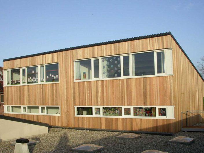 Aanbouw van de Rehobothschool in Boskoop