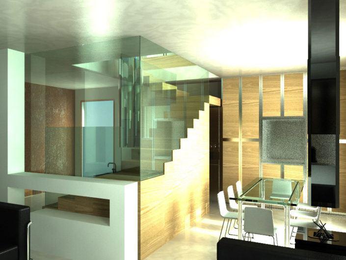 Renovatie kleine penthouse