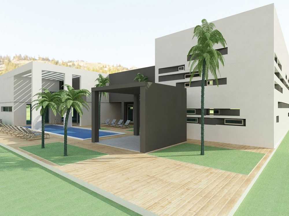 Nieuwbouw Luxe Beauty Center en Spa