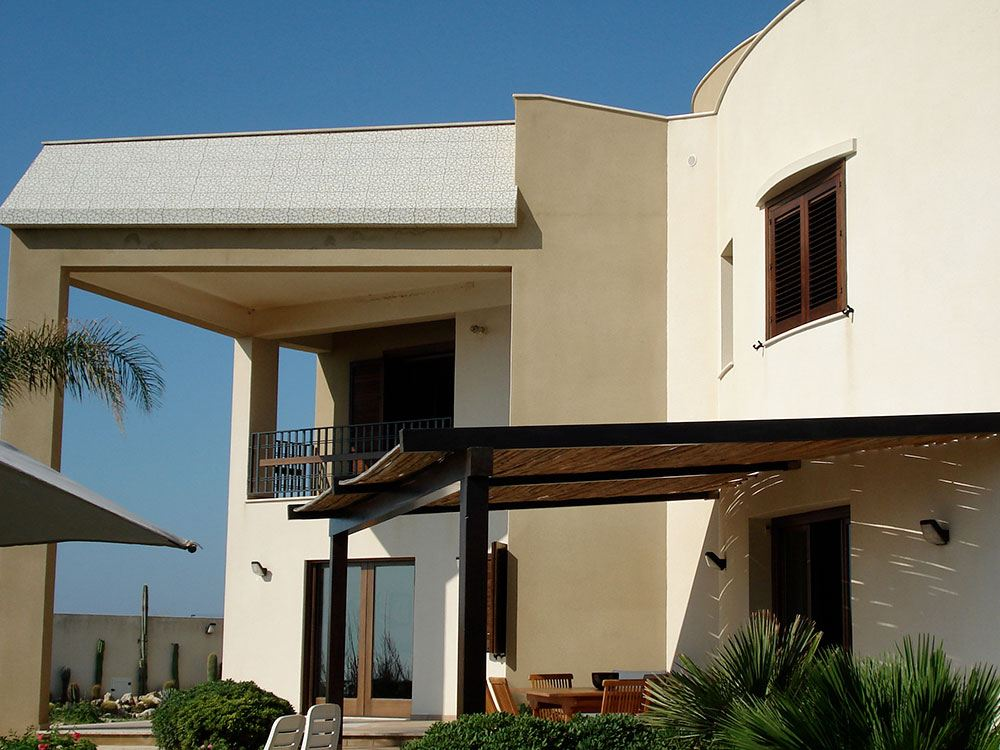 Villa aan zee