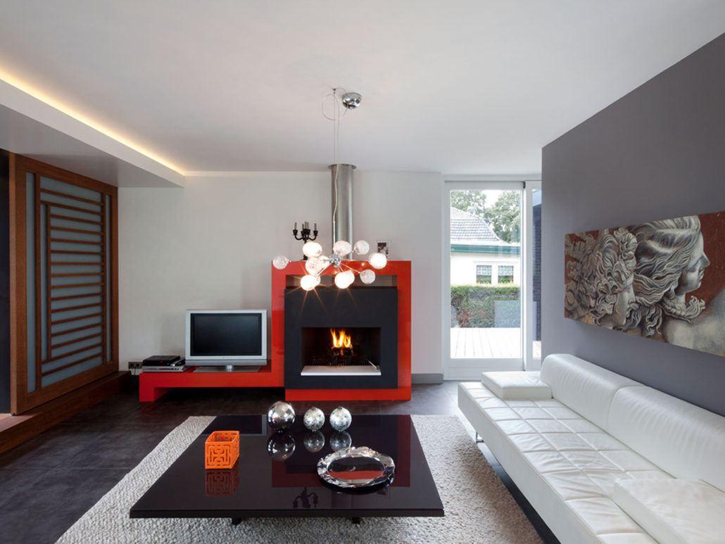 Villa Vinkeveen interieur