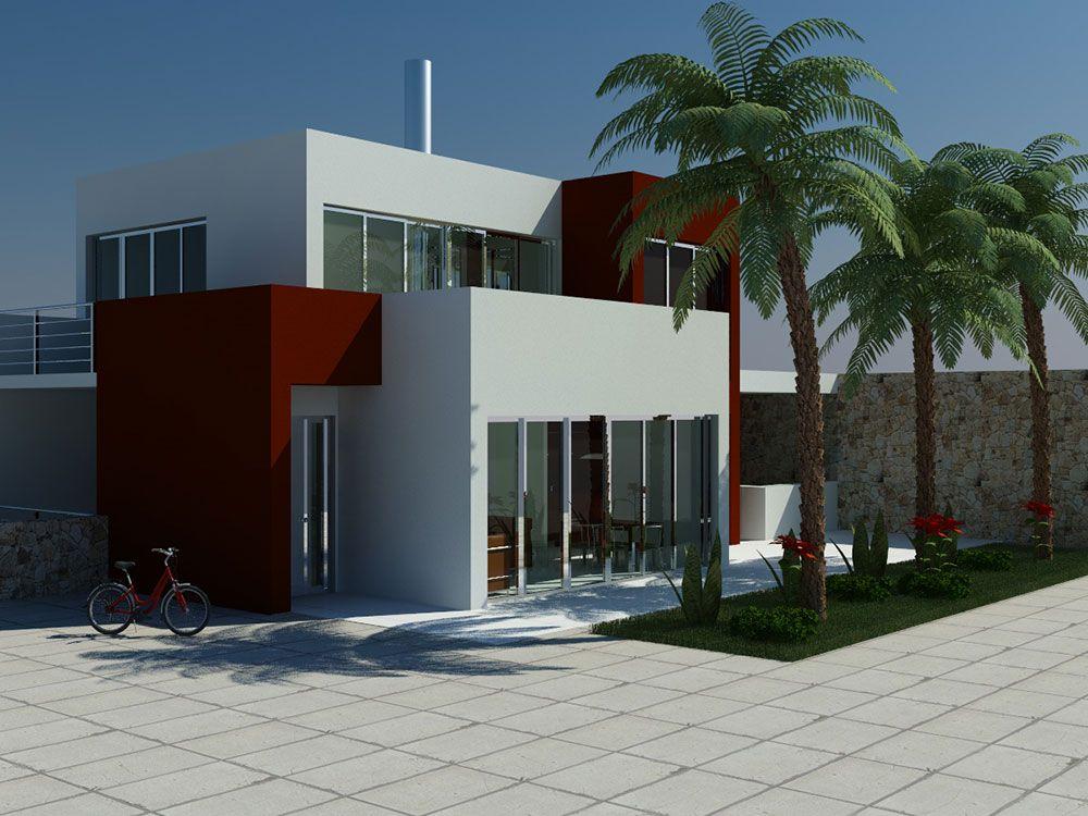 Woonwijk met villa's