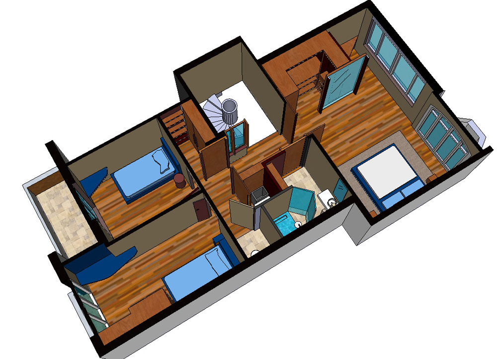 samenvoeging-slaapkamers